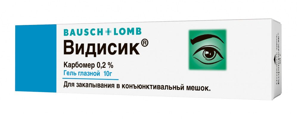 Видисик (гель) капли глазные - инструкция, цена, отзывы