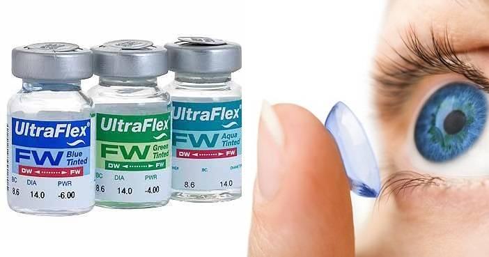 Линзы ultra flex - доктор вашим глазам