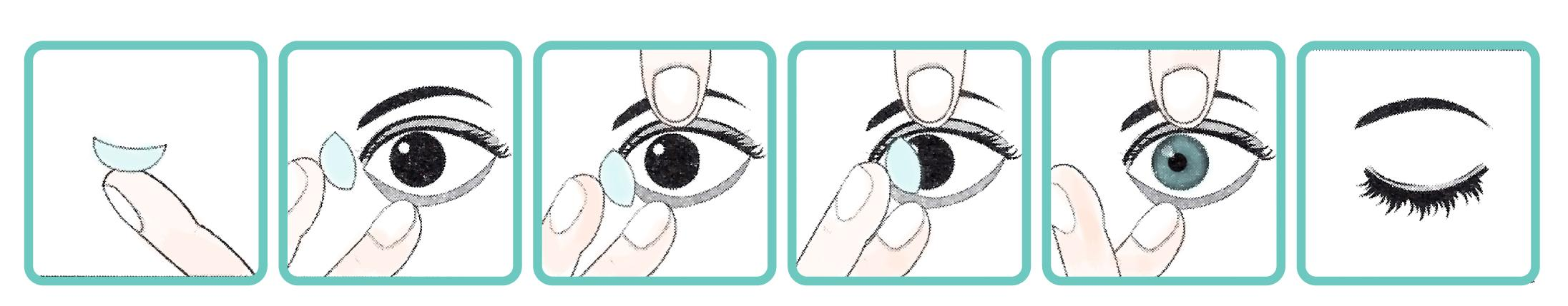 Как надевать линзы первый раз  пошаговая инструкция - читать