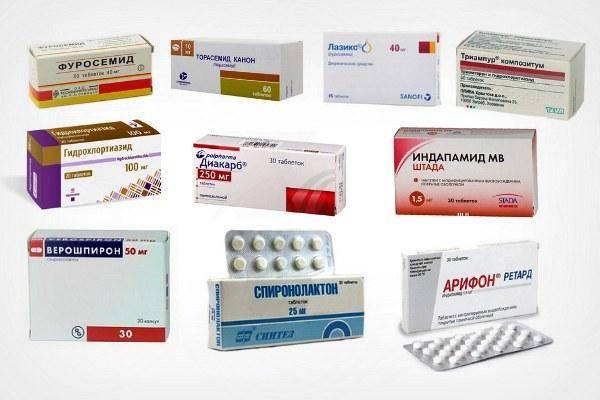 Легкие мочегонные таблетки при отеках лица - врач-советник
