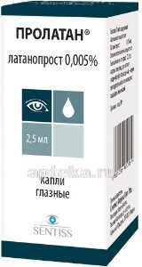 Пролатан, капли для глаз: инструкция по применению, аналоги, цена и отзывы
