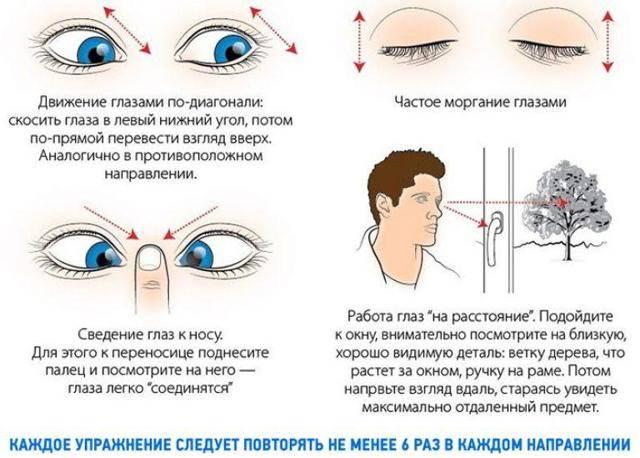 Гимнастика для глаз для улучшения и восстановления зрения: эффективные комплексы из 5,7, 10 упражнений