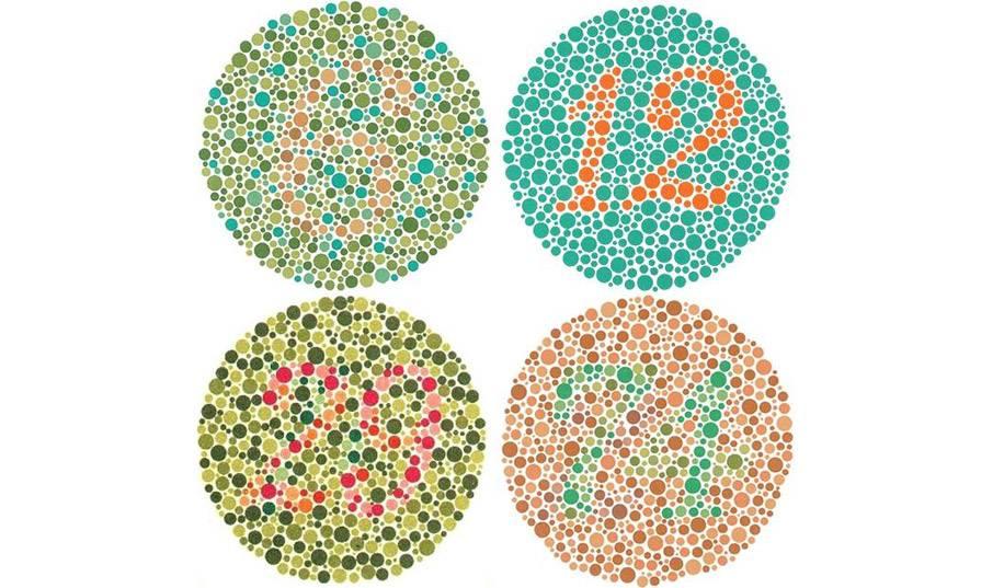 Нарушение цветового зрения - лечение глаз