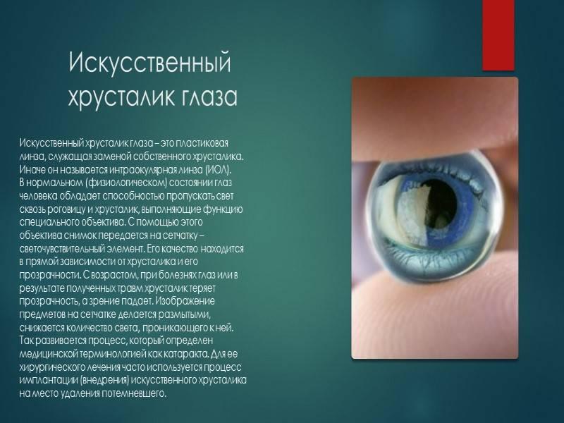 Рейтинг хрусталиков для глаз