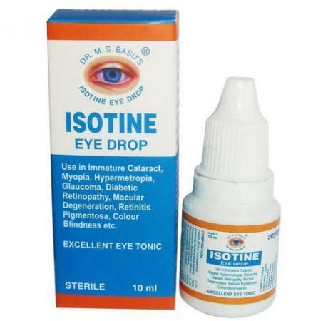 Глазные капли айсотин (isotine): инструкция, отзывы и сколько стоят?