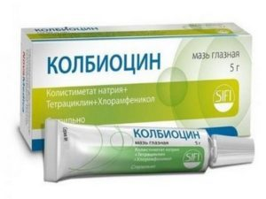 Колбиоцин мазь: инструкция к мази для глаз, аналоги, цена лекарства