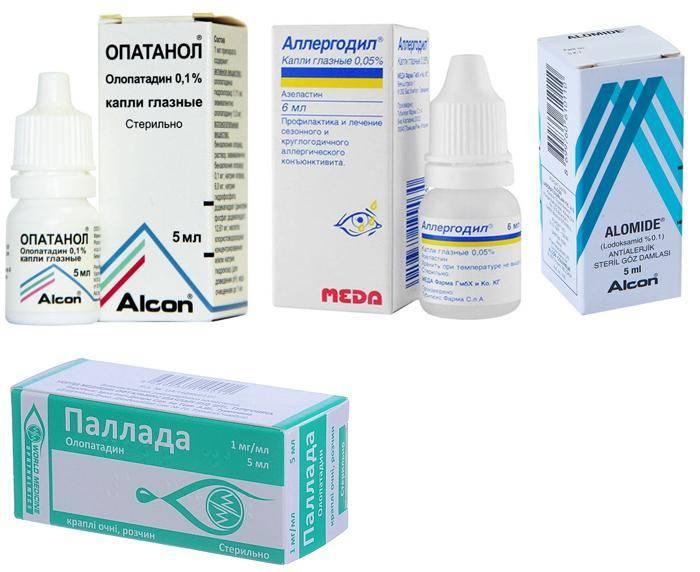 Глазные капли от аллергии для взрослых и детей. виды, список популярных препаратов и противопоказания.