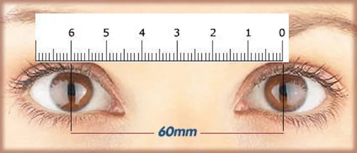 Межзрачковое расстояние - как измерить, определение для очков