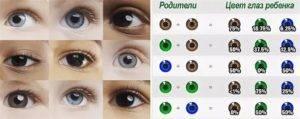 Когда и почему у ребенка меняется цвет глаз