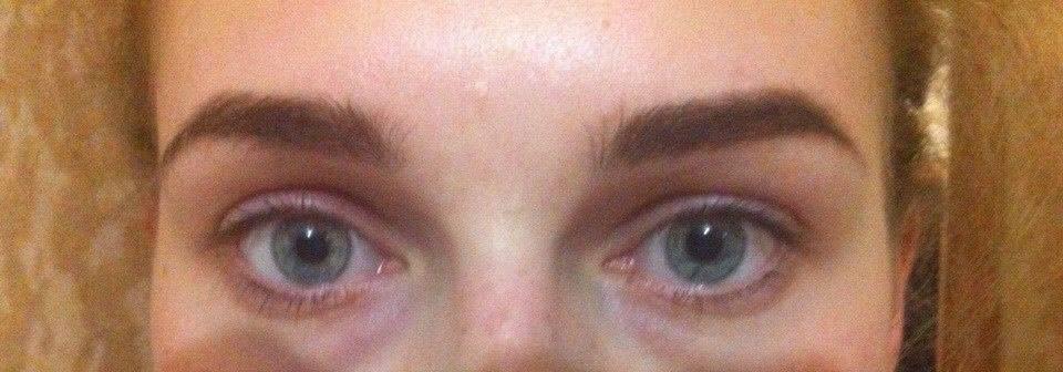 Разные глаза по размеру
