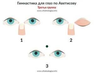 Гимнастика для глаз по аветисову - упражнения для зрения