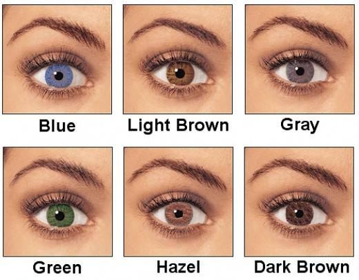 Значение карих и черных глаз у девушек, виды карих глаз и характеристика их обладателей