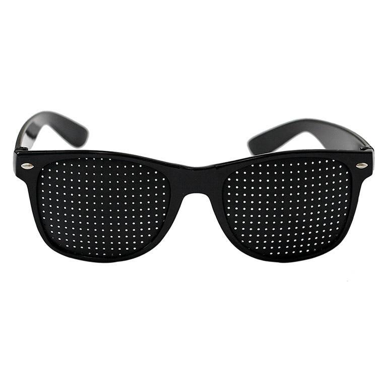 Очки с дырочками: инструкция для улучшения зрения