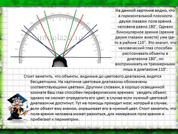 Периметрия глаза - что такое компьютерное и кинетическое исследование полей зрения, и расшифровка результатов диагностики