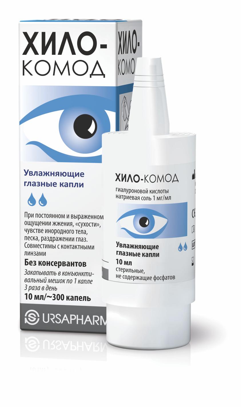 Инструкция по применению глазных капель хилопарин-комод