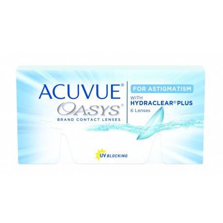 Насколько эффективны линзы acuvue oasys для астигматизма? — глаза эксперт