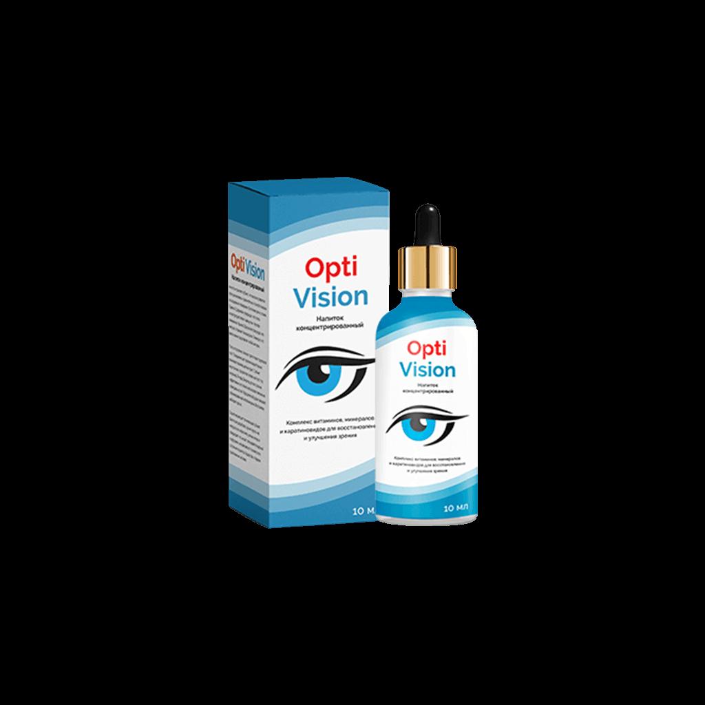 Капли для глаз оptivision