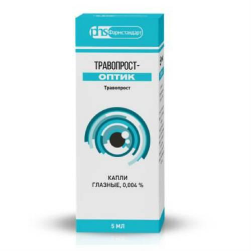 Дуотрав - глазные капли для снижения внутриглазного давления