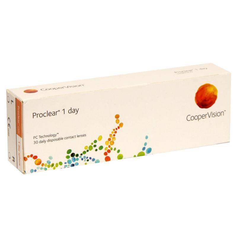 Proclear - обзор контактных линз, отзывы