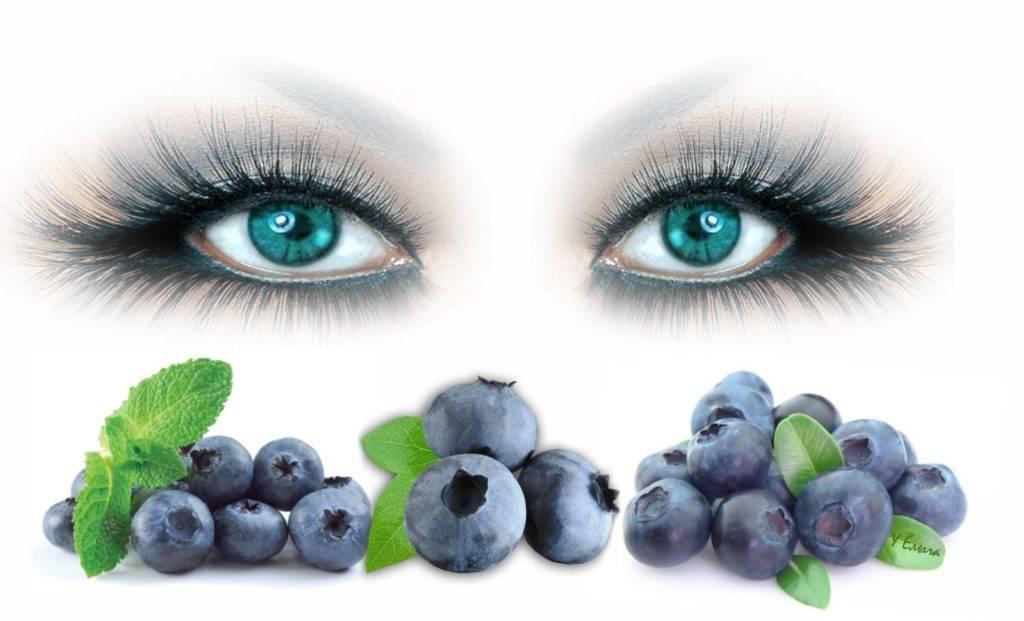 Настой из листьев черники: польза ягоды для глаз