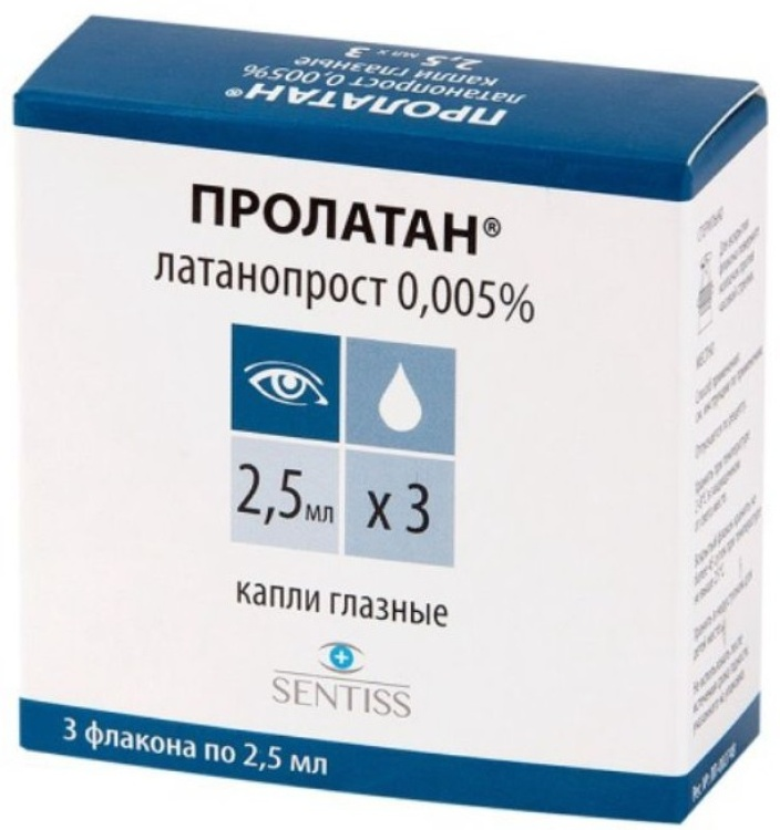 Тафлотан капли глазные - инструкция, цена, отзывы