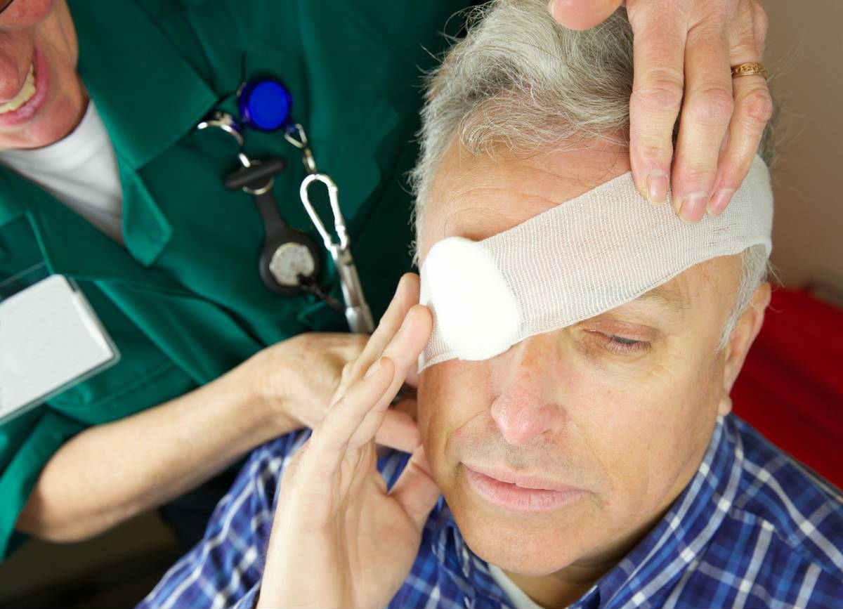 После операции удаления глазного яблока