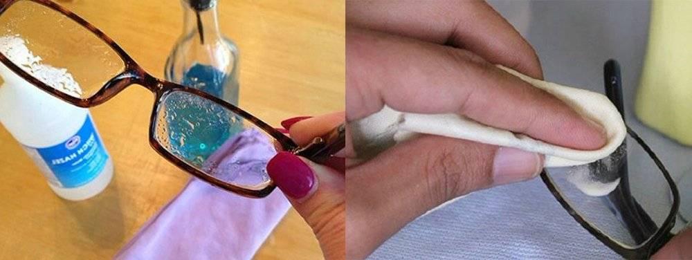 Чем протирать очки. способы очищения очков. самые популярные и удобные способы очищения очковых линз. советы для защиты от загрязнений.