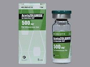 Диакарб (ацетазоламид) инструкция, применение, цены, аналоги