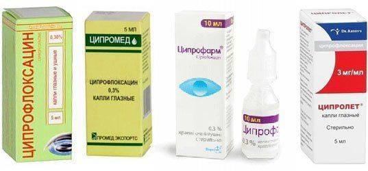 Способ применения ципрофарма