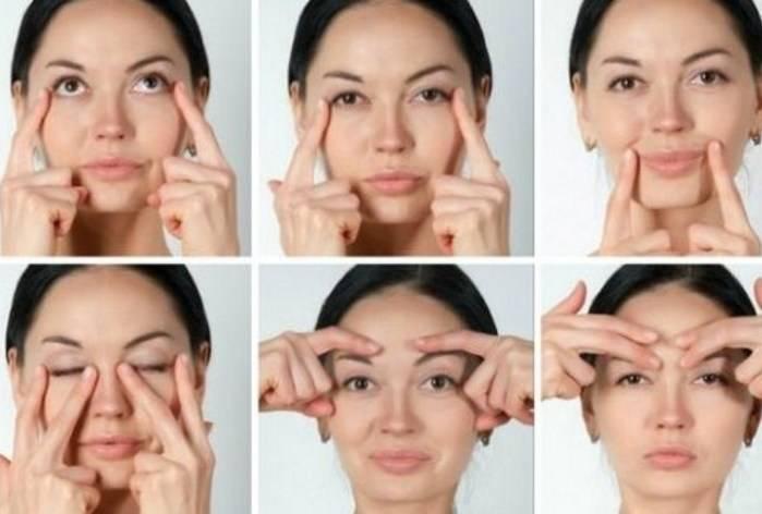 Как подтянуть веки над глазами в домашних условиях: упражнения, маски