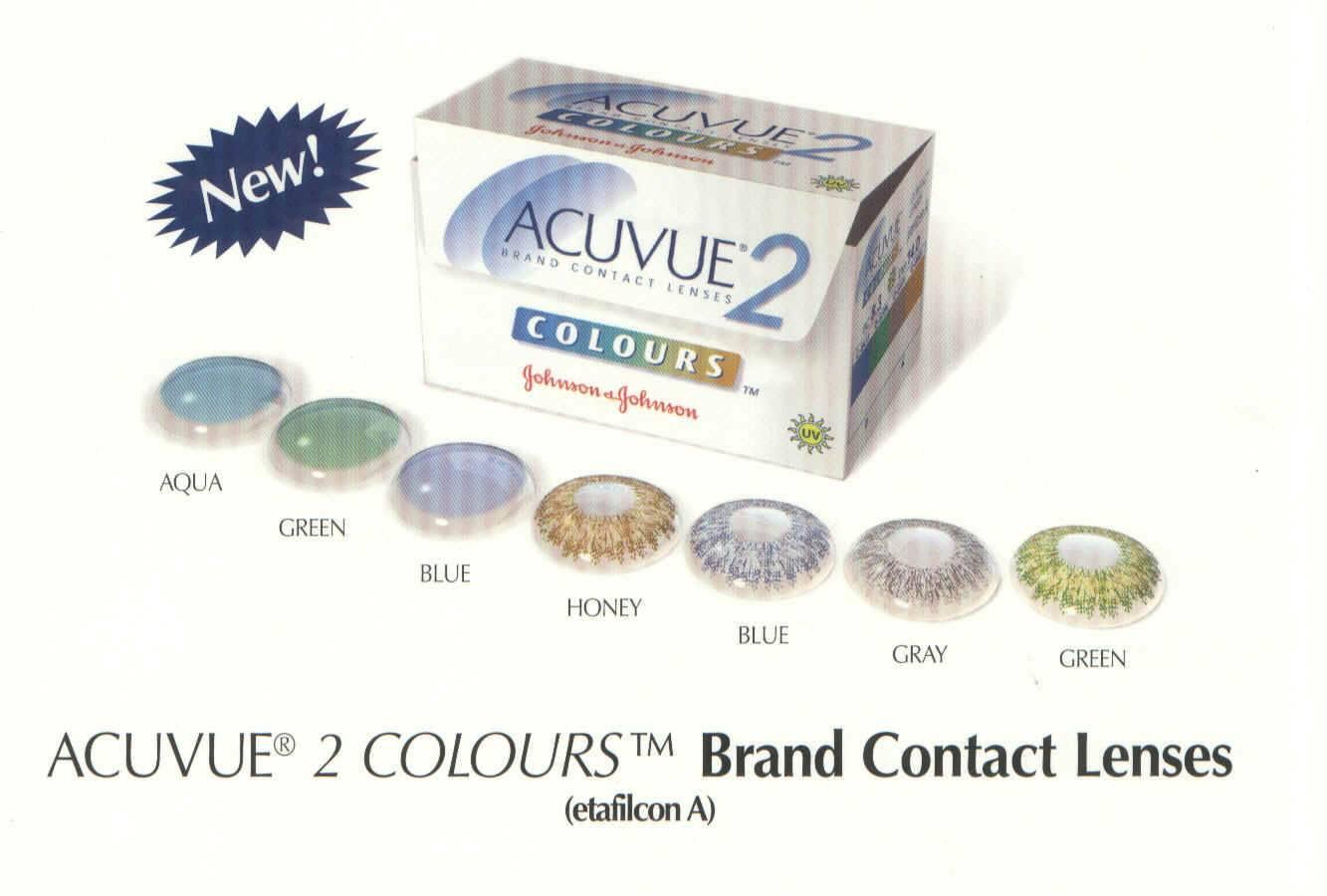 Оттеночные линзы acuvue 2 colours: обзор моделей и отзывы покупателей