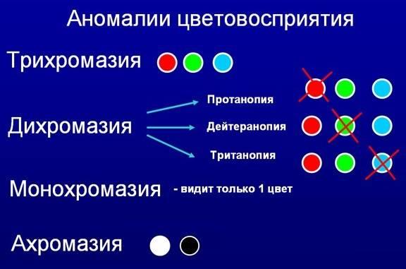 Аномальная трихромазия что это причины диагностика лечение - мед портал tvoiamedkarta.ru