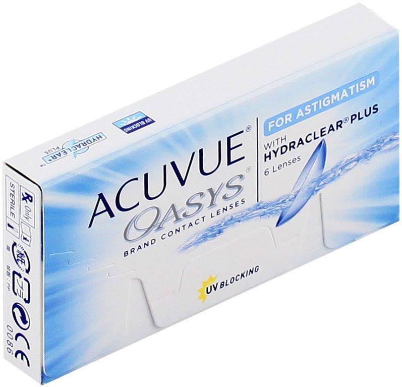 Астигматические линзы акувью что это такое, миопический, контактные, оазим, лечится у детей или нет, смешанный