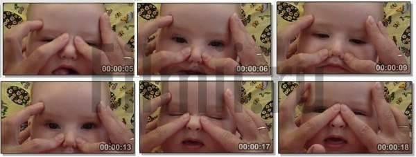 Как делать массаж при дакриоцистите новорожденных (видео)