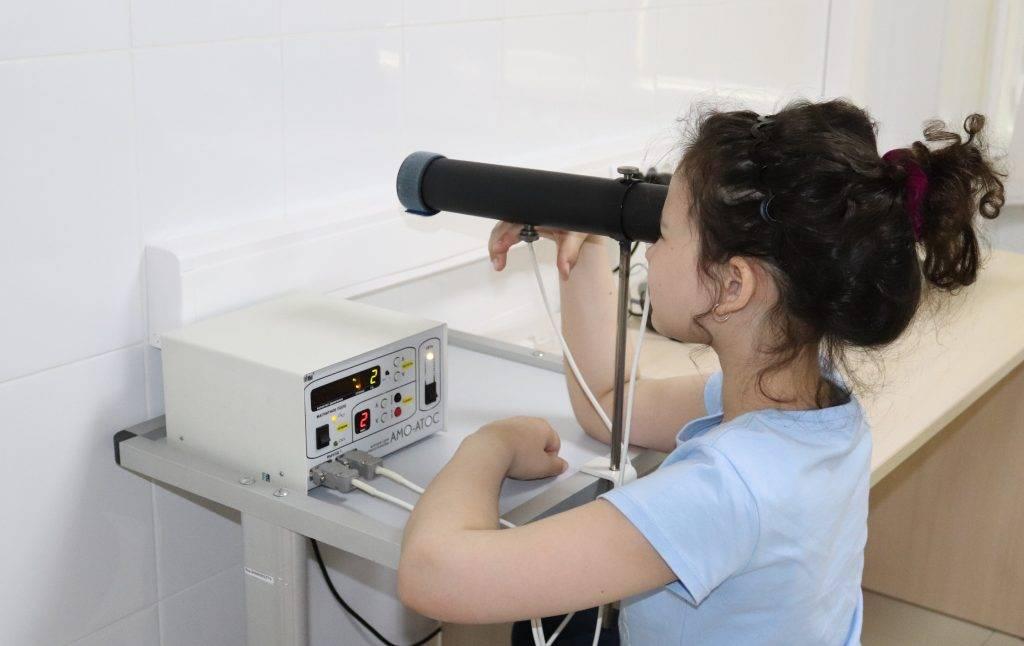 Профилактика нарушений зрения у детей. кабинет охраны зрения в поликлинике «маркушка»