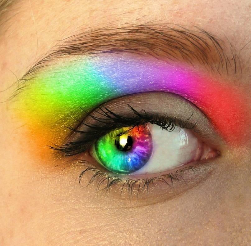 Радужные круги перед глазами