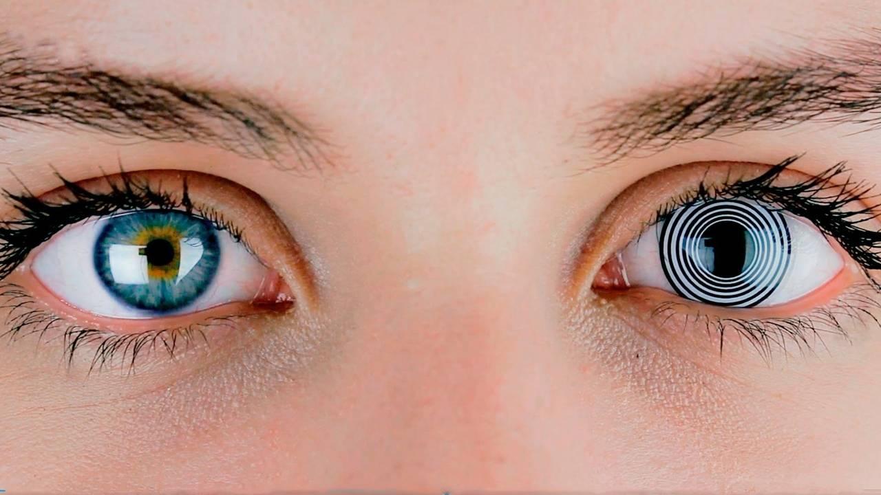 Линзы увеличивающие глаза: до и после, как выбрать.