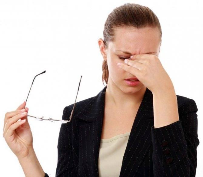 Головокружение когда одеваю очки - здоровая голова