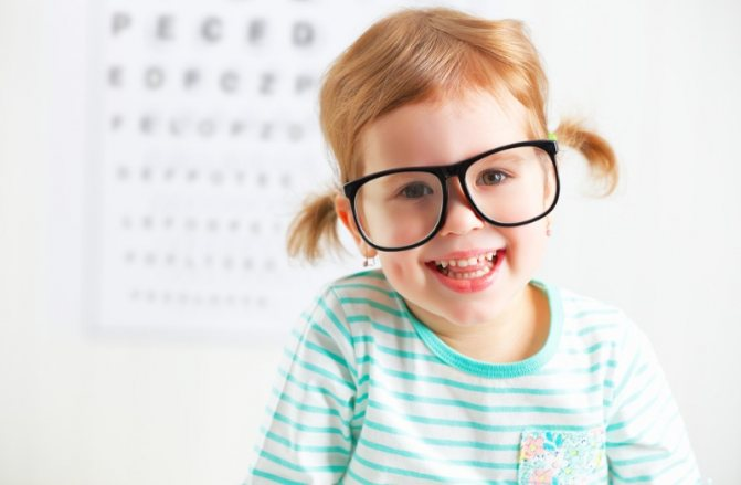 Лечение близорукости у детей
