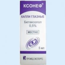 Применение капель ксонеф для снижения глазного давления