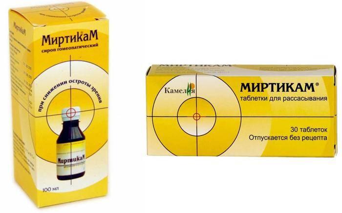 Миртикам – инструкция по применению, отзывы и цена - мир здоровья