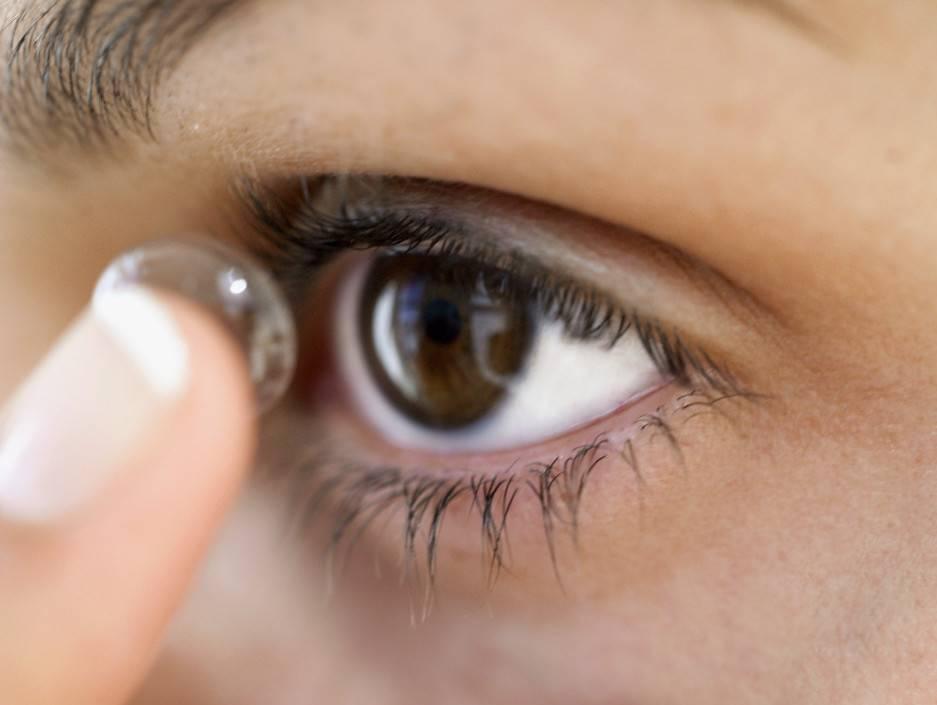 Почему от контактных линз болит голова