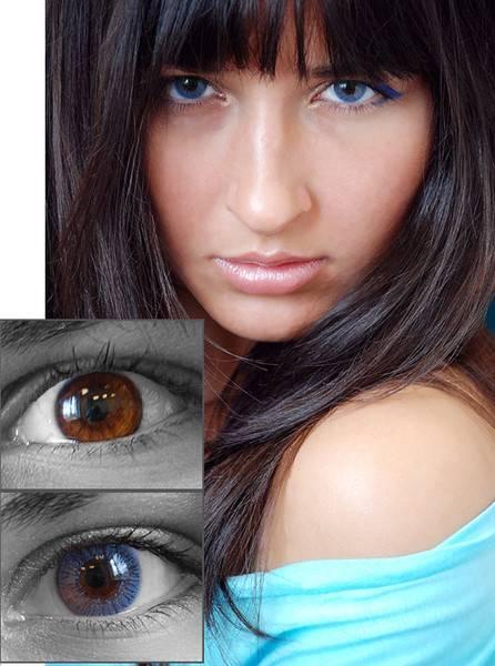 Как подобрать цветные линзы для карих глаз: простые советы