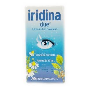 Iridina due отбеливающие капли от усталости глаз (италия). иридина