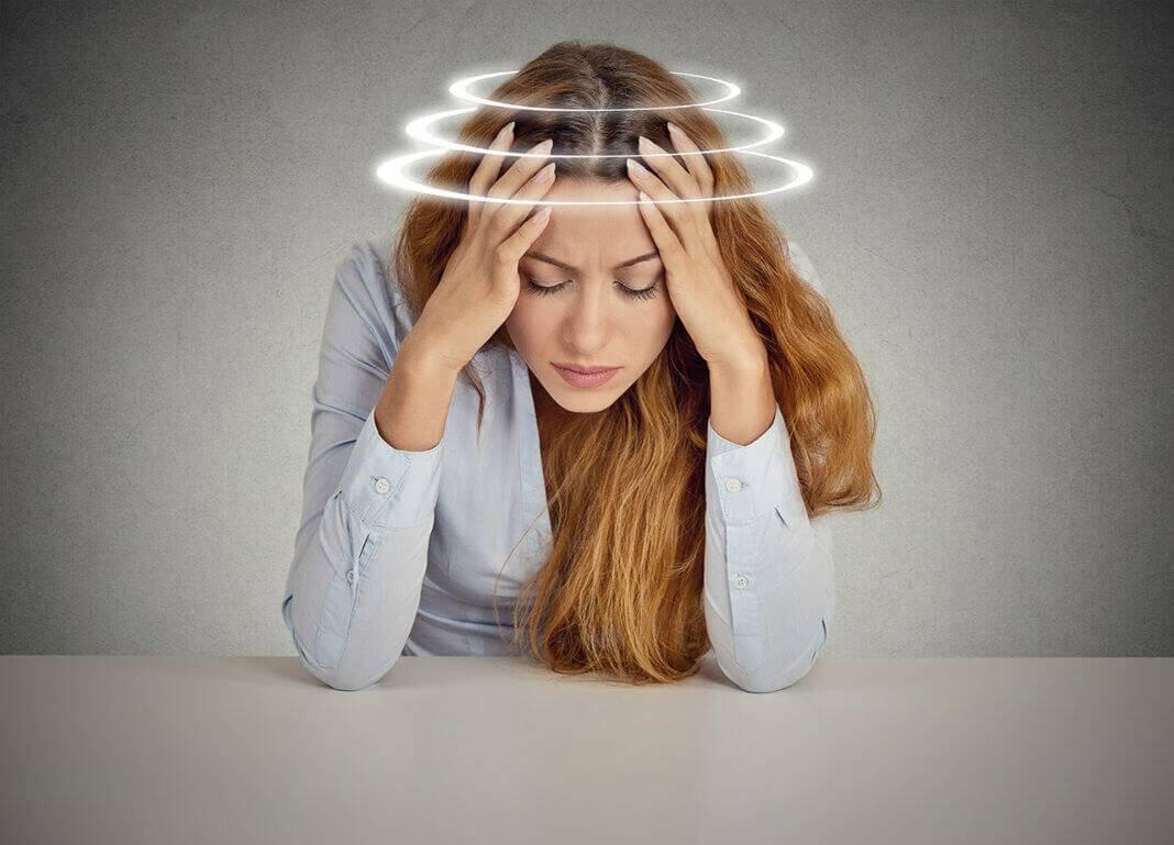 Головокружение при новых очках - здоровая голова
