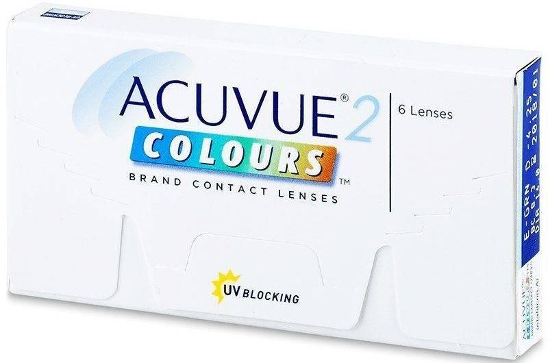 Acuvue 2 colours обзор цветных линз отзывы - медицинский справочник medana-st.ru