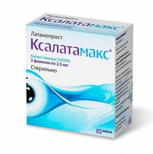 Аналог глазных капель ксалатамакс и цены аналогов