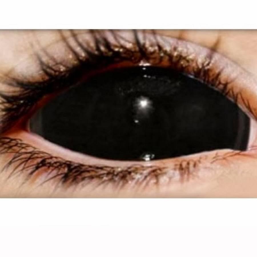 Склеры черные линзы на весь глаз, обзор, цена - 103doctor.ru