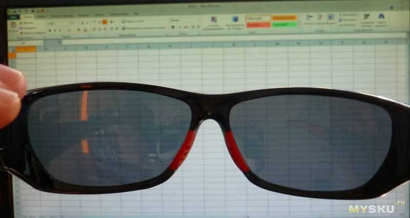 Проверка полароидных очков