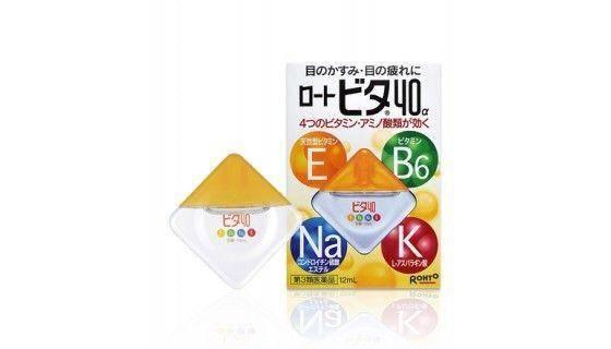 Японские капли для глаз с витаминами - 15 лучших средств